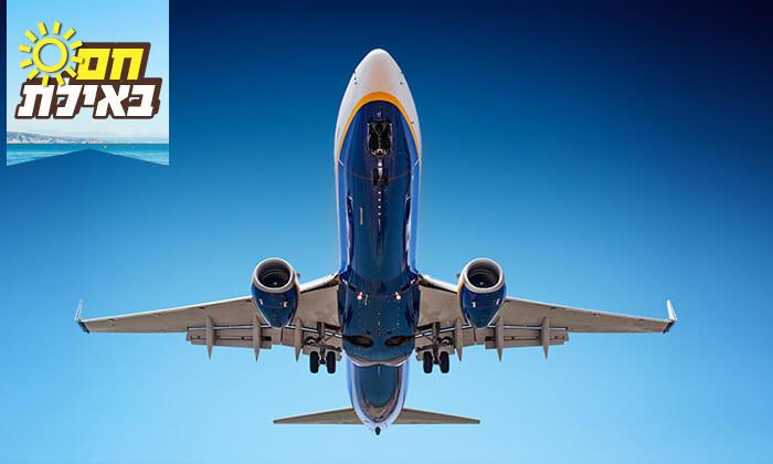 2 טיסות לאילת - טיסות מוזלות מ/אל שדה דב - רמון