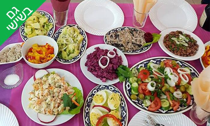 3 ארוחה במסעדת חצ'פוריקסהגאורגית, תל אביב