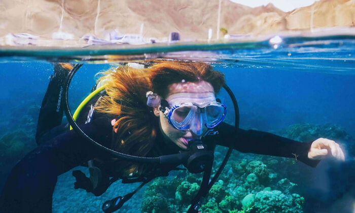 5 קורסי צלילה במועדון Ahla Diving,אילת