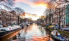 שייט מודרך באמסטרדם