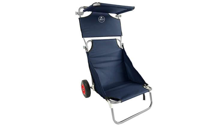 3 עגלת קמפינג וים משולבת כסא CAMP&GO