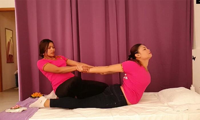 2 עיסוי ליחיד ב-D Thai Massage, חיפה