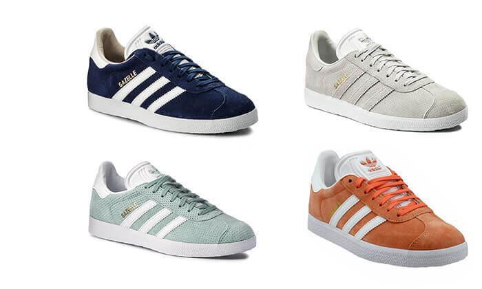 10 נעלי סניקרס adidas דגם GAZELLE