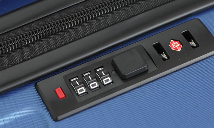 4 מחיר מיוחד לזמן מוגבל: סט 3 מזוודות קשיחות סוויס SWISS