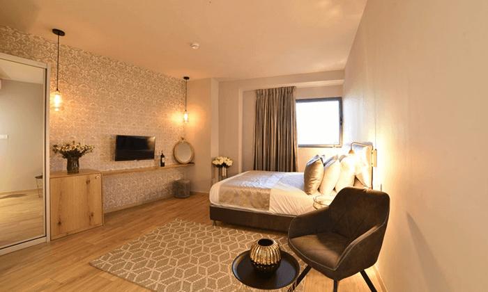 "3 My jerusalem view - מלון יוקרה בלב ירושלים, כולל סופ""ש"