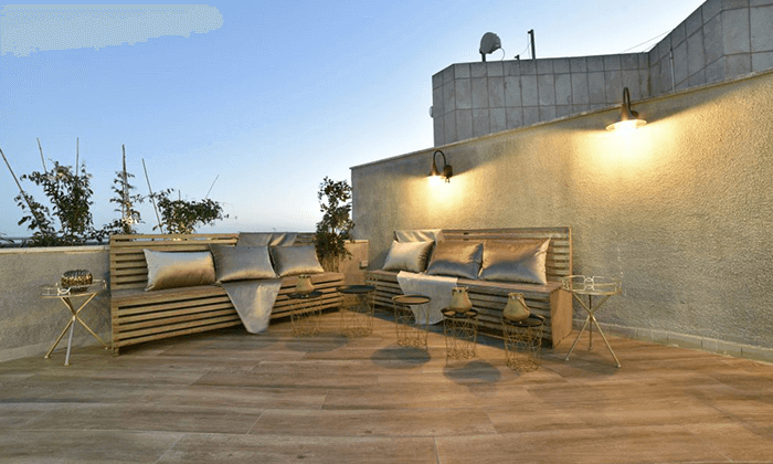 "5 My jerusalem view - מלון יוקרה בלב ירושלים, כולל סופ""ש"