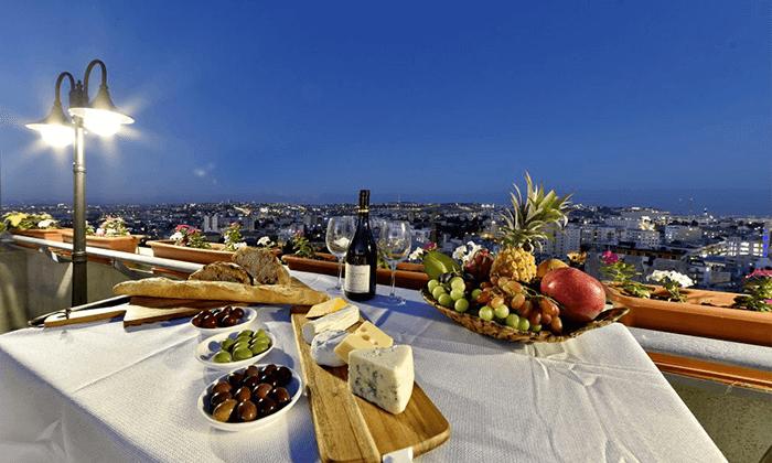 "6 My jerusalem view - מלון יוקרה בלב ירושלים, כולל סופ""ש"