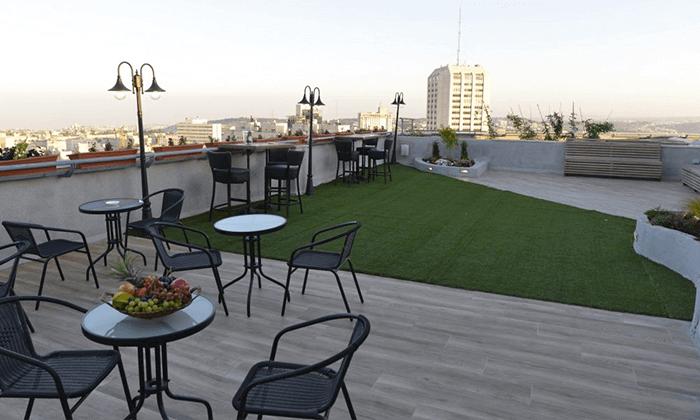 "10 My jerusalem view - מלון יוקרה בלב ירושלים, כולל סופ""ש"