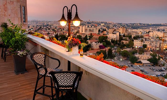 3 My jerusalem view - מלון יוקרה בלב ירושלים