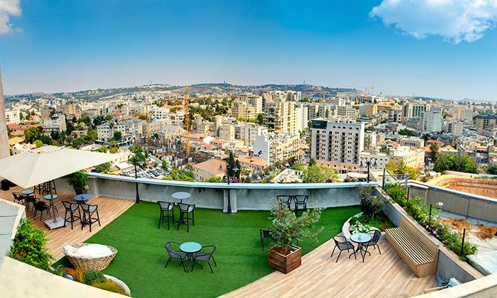 5 My jerusalem view - מלון יוקרה בלב ירושלים