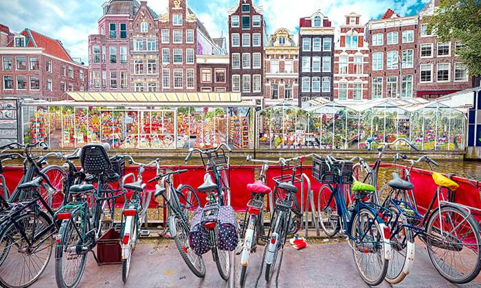 4 אמסטרדם עם האופניים - השכרה יומית