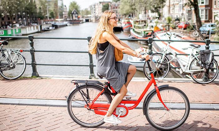 2 אמסטרדם עם האופניים - השכרה יומית