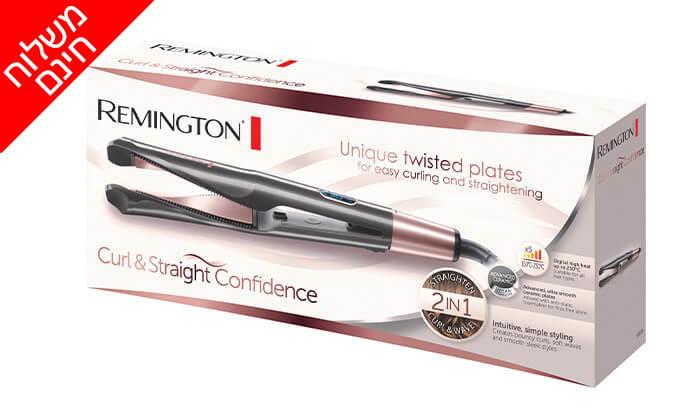 3 מחליק ומסלסל שיער REMINGTON רמינגטון דגםS6606- משלוח חינם