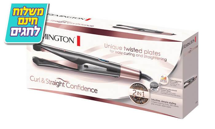 3 מחליק ומסלסל שיער REMINGTON רמינגטון דגםS6606 - משלוח חינם