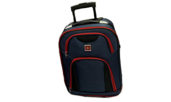 4 מזוודה 25 אינץ' סוויס SWISS