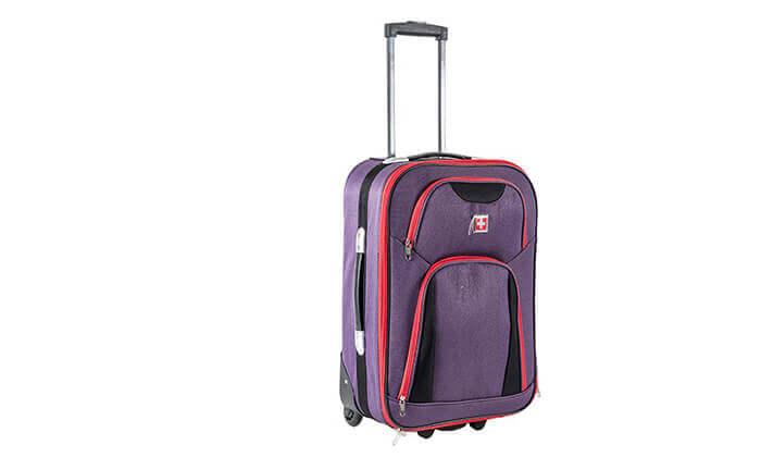 3 מזוודה 25 אינץ' סוויס SWISS