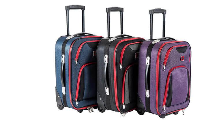 7 מזוודה 25 אינץ' סוויס SWISS