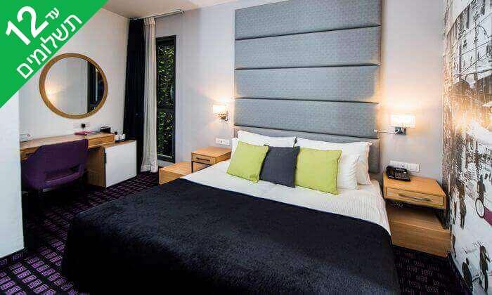 """9 יולי אוגוסט באייל ירושלים: חופשה זוגית במלון בוטיק, כולל סופ""""ש"""