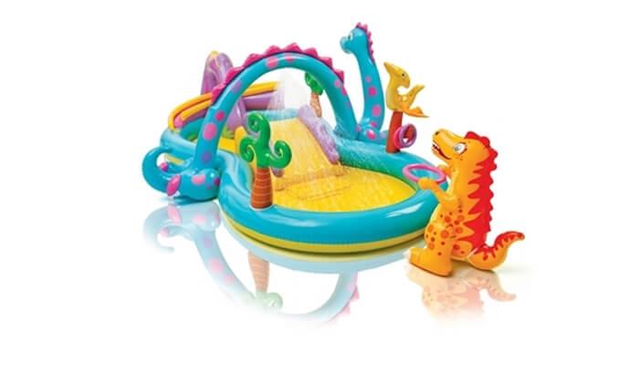 2 בריכה משחקים מתנפחת לילדים Intex