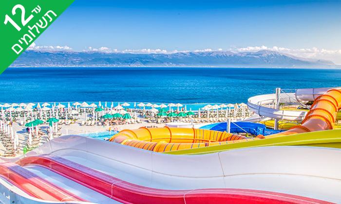 6 יולי-אוגוסט במקדוניה - מלון 5 כוכבים מומלץ עם פארק מים