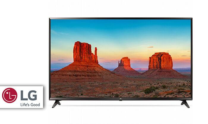 טלוויזיה חכמה 4K LG, מסך 43 אינץ'