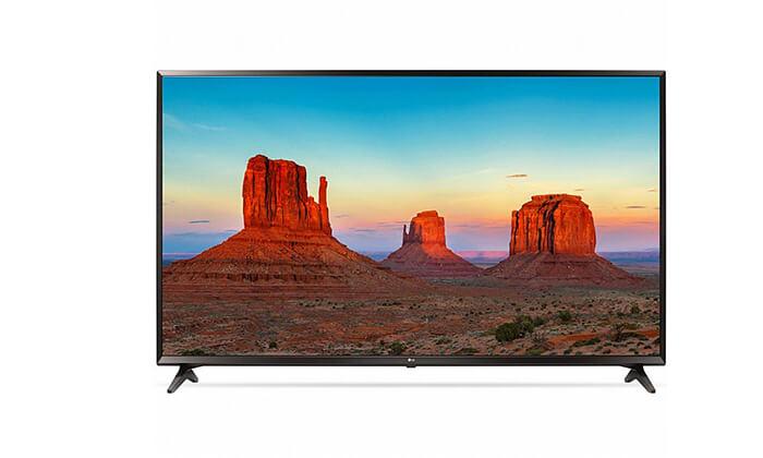 3 טלוויזיה חכמה 4K LG, מסך 65 אינץ'