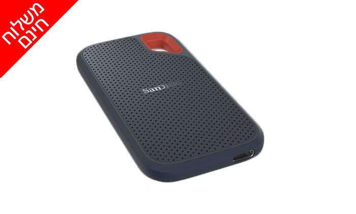 3 כונן SSD חיצוני של SanDisk - משלוח חינם