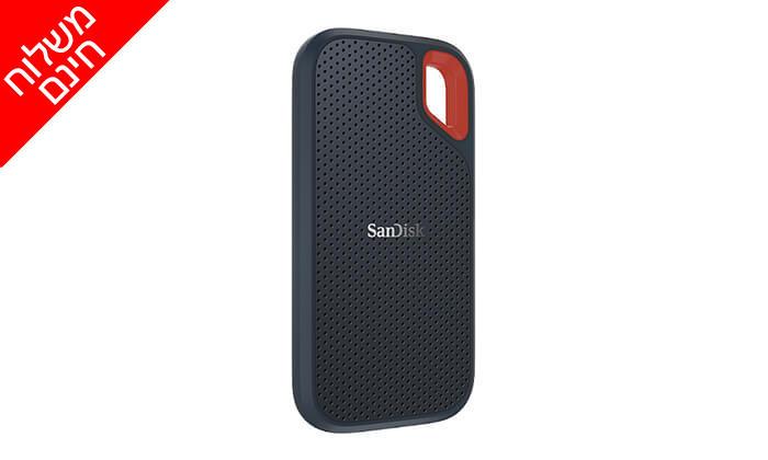 4 כונן SSD חיצוני של SanDisk - משלוח חינם