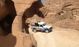 טיול ג'יפים בהרי אילת