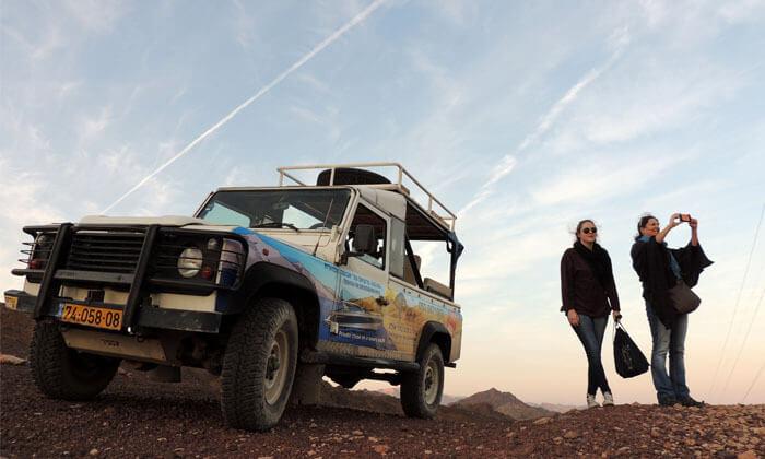 7 אילת טורס - טיול ג'יפים בהרי אילת