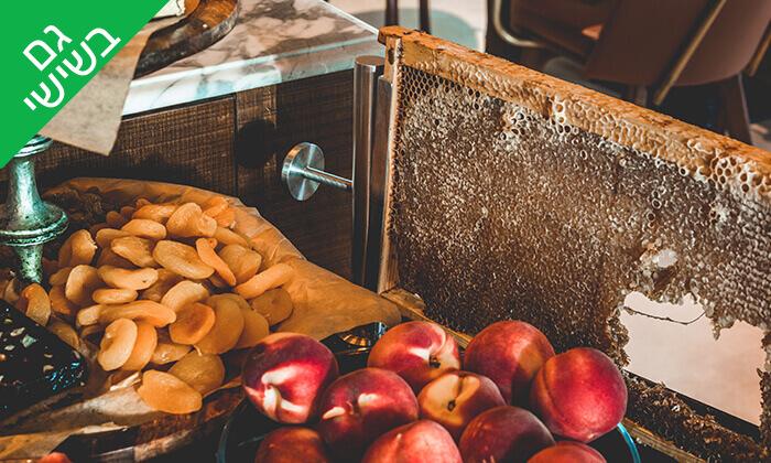 6 ארוחת בוקר בופה ליחיד או לזוג במלון בוטיק טריפ, ירושלים