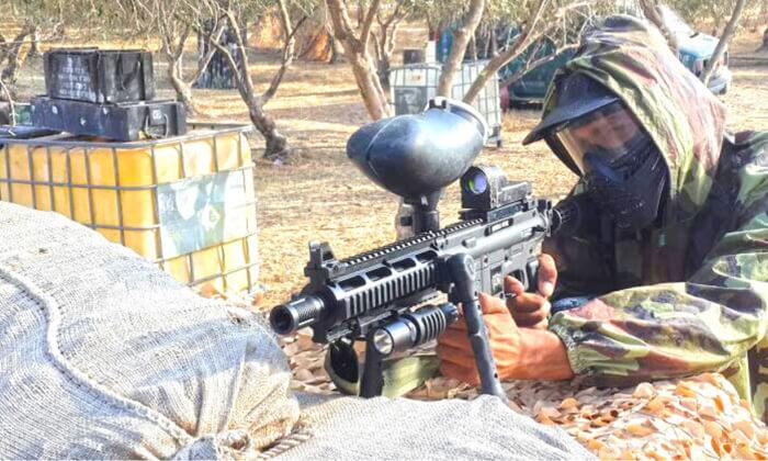 5 טיול חמורים ומשחק ירי למטרות בחוות פיליפ, סמוך לקרית גת