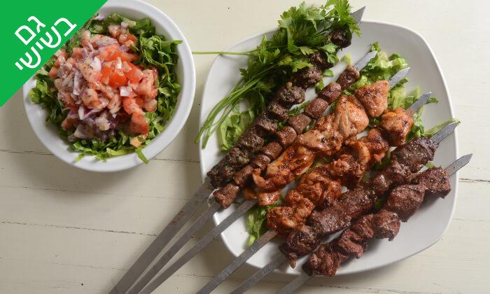 2 ארוחה זוגית ב'תרשיש 9', אילת