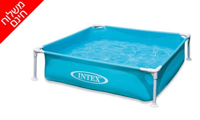 2 בריכה אינטקס INTEX - משלוח חינם