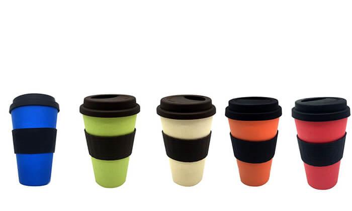 2 סט 5 כוסות מסיבי במבוק