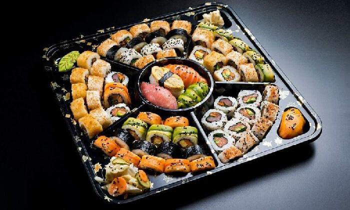 2 מגש סושי במסעדת טוגראשי, אילת