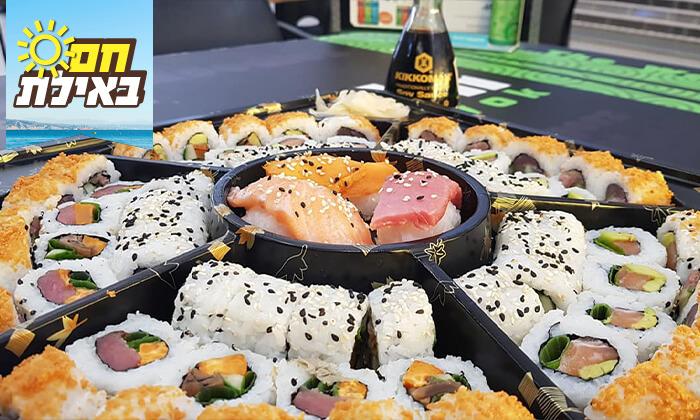 5 מגש סושי במסעדת טוגראשי, אילת
