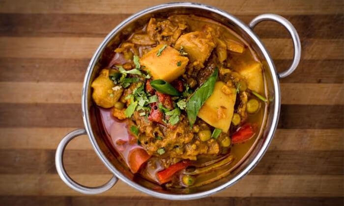 2 ארוחה אסייתית זוגית במסעדת טיקה מסאלה, אילת