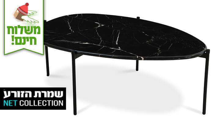 2 שמרת הזורע: שולחן שיש לסלון - הובלה חינם!