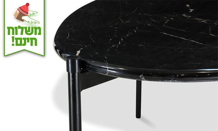 3 שמרת הזורע: שולחן שיש לסלון - הובלה חינם!