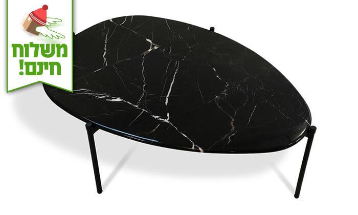 4 שמרת הזורע: שולחן שיש לסלון - הובלה חינם!