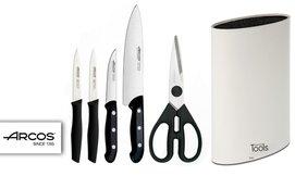 מארז סכינים ARCOS במעמד TOOLS
