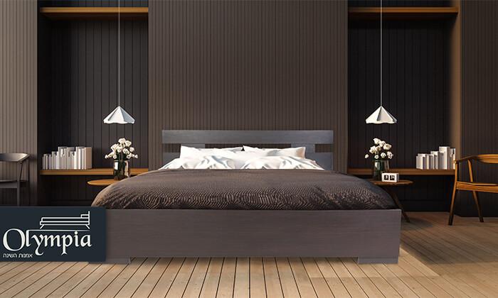 2 אולימפיה: מיטה עם מזרן
