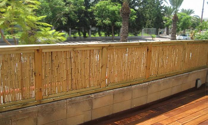 4 גדר במבוק AUSTRALIA GARDEN