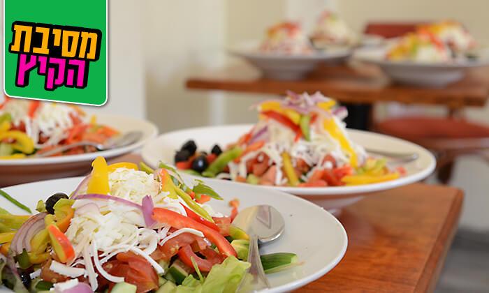 4 ארוחה זוגית כשרה במסעדת אגס ותפוח, כיכר ספרא - ירושלים