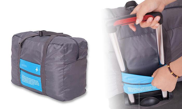 2 תיק נסיעות מתקפל לידית המזוודה