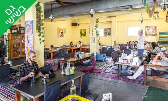 5 ארוחת טאלי הודית במסעדת 24 רופי, שוקן תל אביב