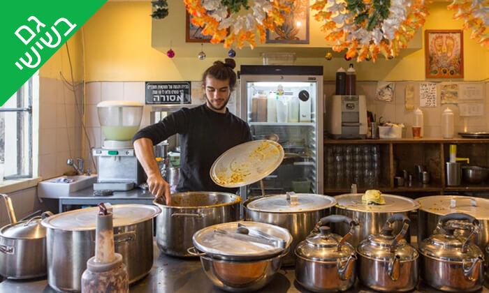 7 ארוחת טאלי הודית במסעדת 24 רופי, שוקן תל אביב