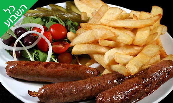 3 ארוחת בשרים ליחיד או לזוג במסעדת קניבר, חיפה עיר תחתית