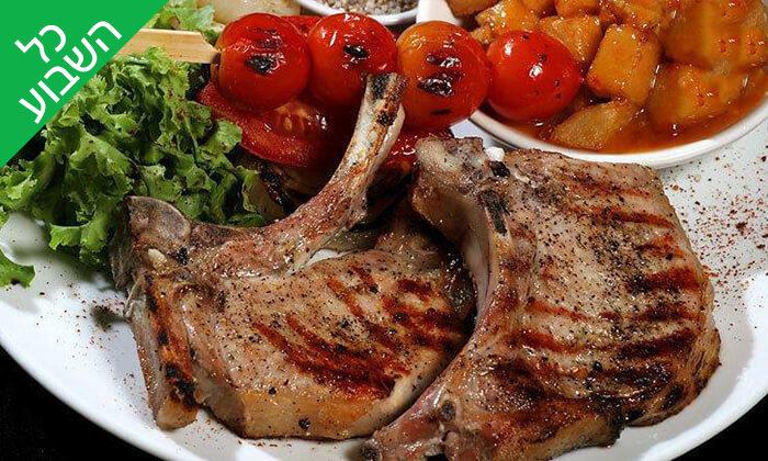 7 ארוחת בשרים ליחיד או לזוג במסעדת קניבר, חיפה עיר תחתית